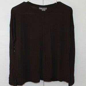 Vince Women's Size XS Black Long Sleeve Top